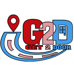 Get 2 Door LOGO BIG